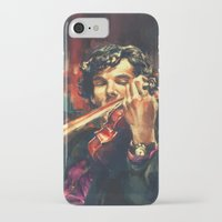 sherlock iPhone & iPod Cases featuring Virtuoso by Alice X. Zhang