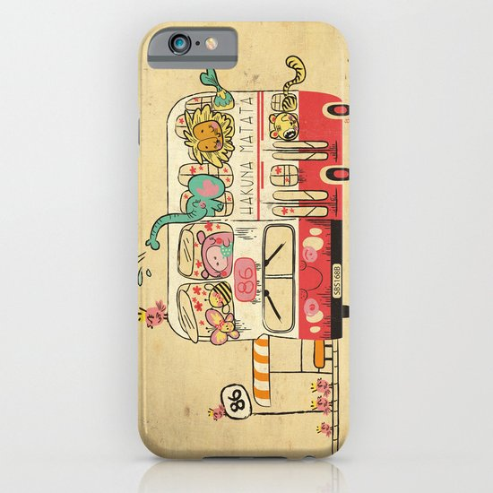 Hakuna Matata, The Childhood Bus iPhone & iPod Case