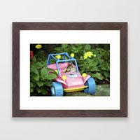 Leave The Driving To Me Framed Art Print