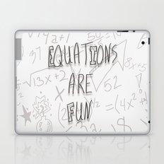 Equations Are Fun Laptop & iPad Skin