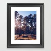 Spring Hope, North Carol… Framed Art Print