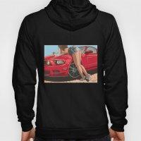 Girl & car II Hoody