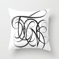 Think Throw Pillow