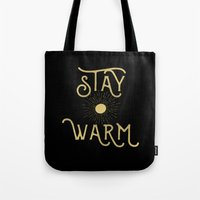 Stay Warm Tote Bag