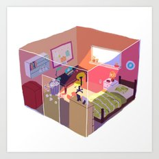room 296 Art Print