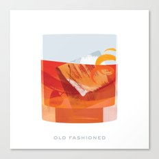 Cocktail Hour: Old Fashioned Canvas Print