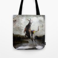 the golden fawn Tote Bag
