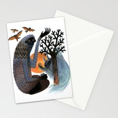 Big Foot's Demons Stationery Cards