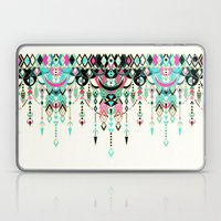 Modern Deco in Pink and Turquoise Laptop & iPad Skin