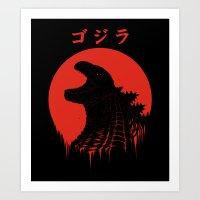 Kaiju Regeneration Art Print