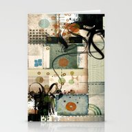 Abstract Exceptions Stationery Cards