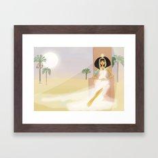 Pharoah Cleopatra VII - Egypt Framed Art Print