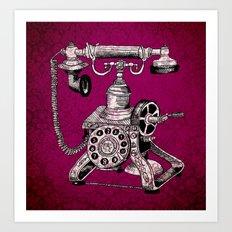 Phone it in.. Art Print