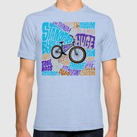 Standard 26 Mens Fitted Tee Tri-Blue SMALL