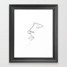 A little taste of your soul Framed Art Print