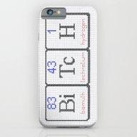 BiTcH Chemical Elements … iPhone 6 Slim Case