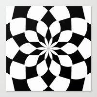 Kaleidoscope 'K2 SQ' Canvas Print