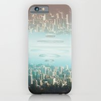 iPhone Cases featuring Intervention 28 by Viviana Gonzalez