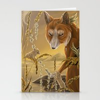 solar owls ceres  Stationery Cards