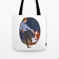 Little Amelia And Her Ra… Tote Bag