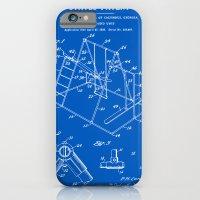 Playground Patent - Blueprint iPhone 6 Slim Case