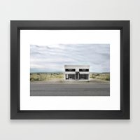 Prada Marfa Framed Art Print