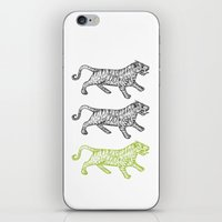Three Tigers iPhone & iPod Skin