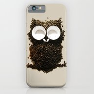 iPhone & iPod Case featuring Hoot! Night Owl! by Marco Angeles