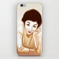 Tautou iPhone & iPod Skin