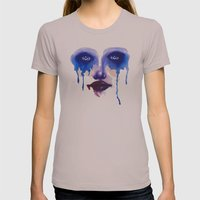 Blue Eyes Womens Fitted Tee Cinder SMALL