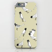 Bird Print - Natural iPhone 6 Slim Case