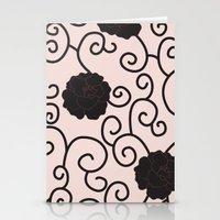 Swirls and Twirls Stationery Cards