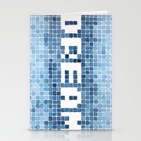 Dream Watercolor Mosaic … Stationery Cards