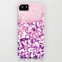 iPhone 5s & iPhone 5 Cases featuring sea of bling - purple by Iris Lehnhardt