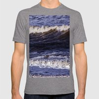 To the sea, to the sea... Mens Fitted Tee Tri-Grey SMALL