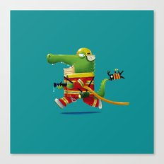 Buya the Firefighter Canvas Print