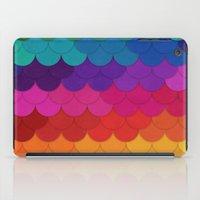 Rainbow Scallops iPad Case