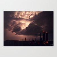 Industrial Spark II Canvas Print
