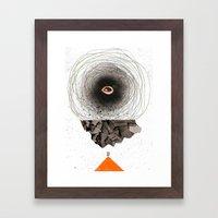 I C U Framed Art Print