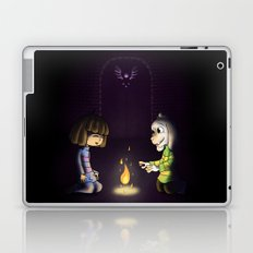 Frisk and Asriel Laptop & iPad Skin