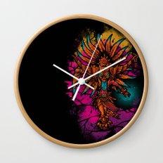 Ancient Spirit Wall Clock