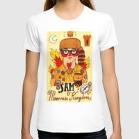 moonrise kingdom T-shirts featuring Moonrise Kingdom SAM by Ricardo Cavolo