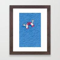 S.O.S. (version 2.0) Framed Art Print