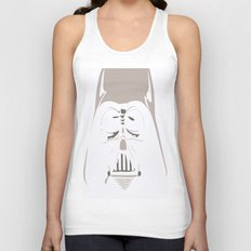 Ghost Darth Vader Unisex Tank Top