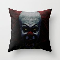 Pennywise Throw Pillow