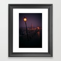 At The Docks Framed Art Print