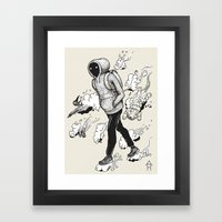 Dream Walking Framed Art Print