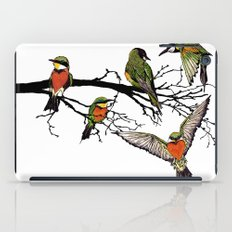 bee-eaters iPad Case
