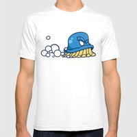 Suds... Mens Fitted Tee White SMALL
