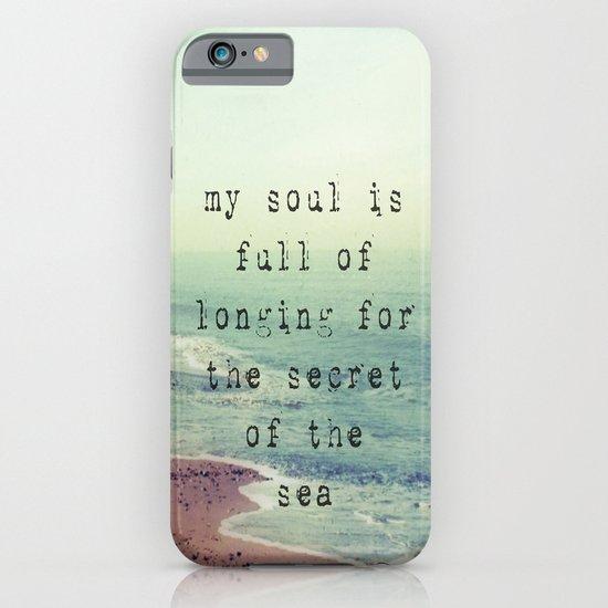 The Secret Of The Sea iPhone & iPod Case